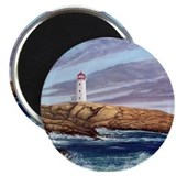 Peggy's Cove Lighthouse Magnet