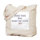 Look 80 shirt Tote Bag