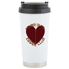 Zipper Club Ceramic Travel Mug