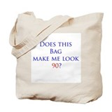 Look 90 shirt Tote Bag