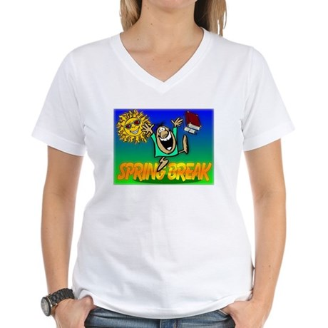Spring Break Women's V-Neck T-Shirt