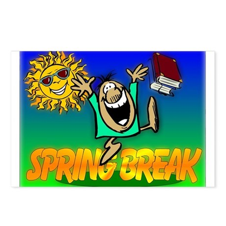 Spring Break Postcards (Package of 8)