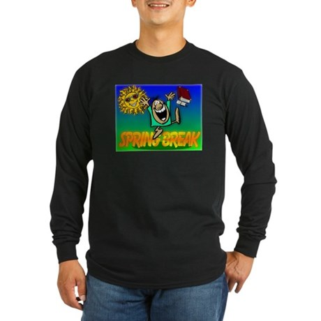 Spring Break Long Sleeve Dark T-Shirt