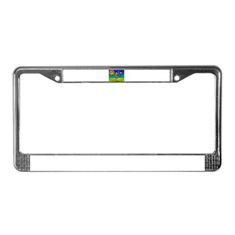 Spring Break License Plate Frame