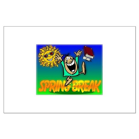 Spring Break Large Poster