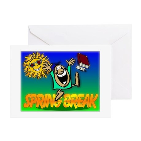 Spring Break Greeting Card