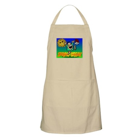 Spring Break BBQ Apron