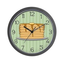 Pancakes Wall Clock