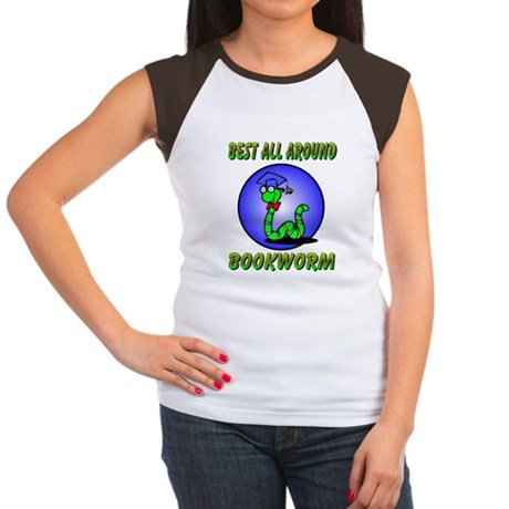 Best Bookworm Women's Cap Sleeve T-Shirt