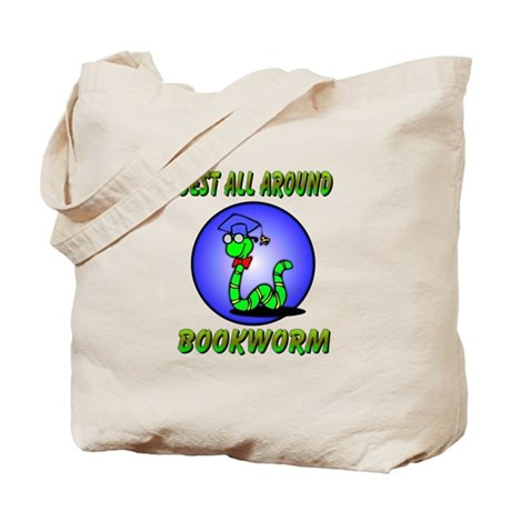 Best Bookworm Tote Bag