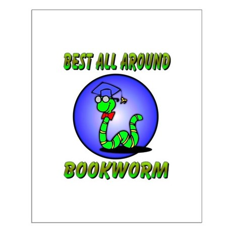 Best Bookworm Small Poster