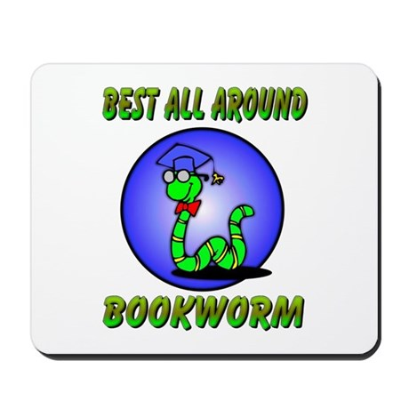 Best Bookworm Mousepad