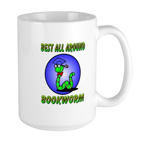 Best Bookworm Large Mug