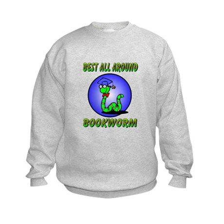 Best Bookworm Kids Sweatshirt