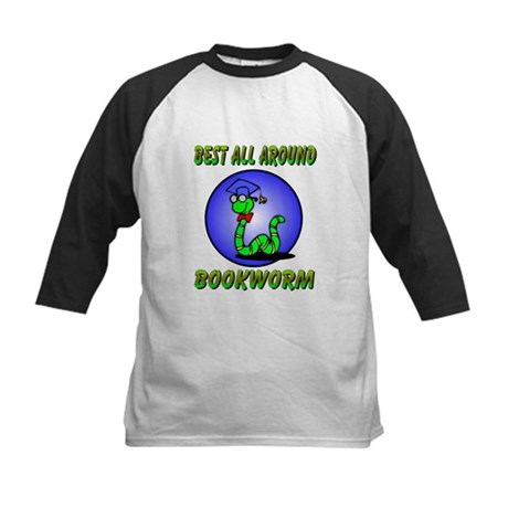 Best Bookworm Kids Baseball Jersey