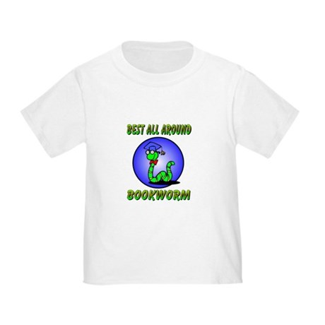 Best Bookworm Toddler T-Shirt