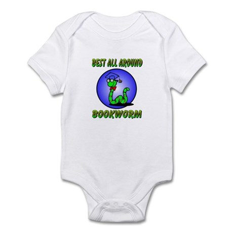Best Bookworm Infant Bodysuit