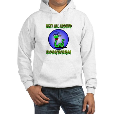 Best Bookworm Hooded Sweatshirt