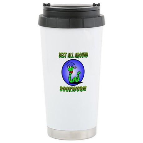 Best Bookworm Ceramic Travel Mug