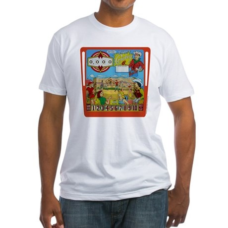"Gottlieb® ""Flipper Cowboy"" Fitted T-Shirt"