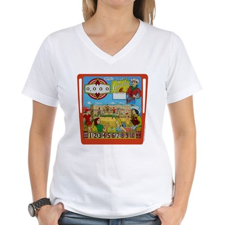 "Gottlieb® ""Flipper Cowboy"" Women's V-Neck T-Sh"
