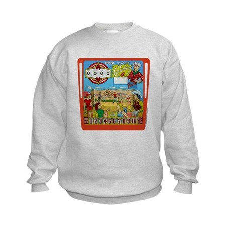 "Gottlieb® ""Flipper Cowboy"" Kids Sweatshirt"