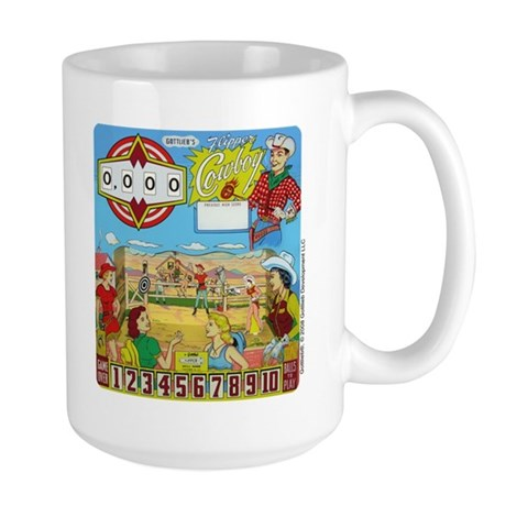 "Gottlieb® ""Flipper Cowboy"" Large Mug"