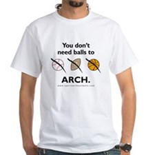 You don't need balls to ARCH.