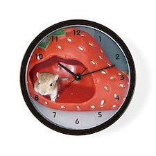 Gerbil Wall Clock