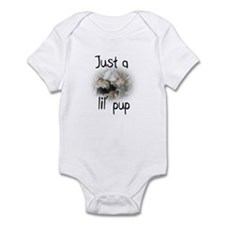 Just a lil' pup gerbil Infant Bodysuit