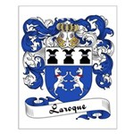 Laroque Family Crest Small Poster