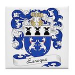 Laroque Family Crest Tile Coaster