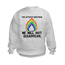 AS: We Will Not Disappear Kids Sweatshirt