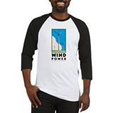 Wind Power Baseball Jersey