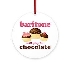 Funny Baritone Ornament (Round)