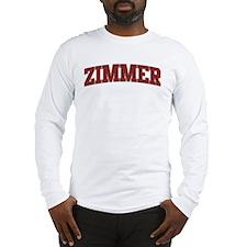 ZIMMER Design Long Sleeve T-Shirt