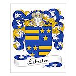 Lebreton Family Crest Small Poster