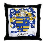 Lebreton Family Crest Throw Pillow