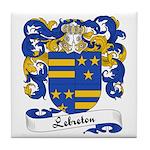 Lebreton Family Crest Tile Coaster