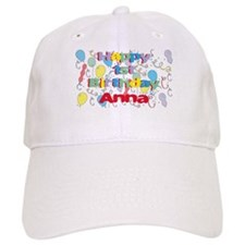 Anna's 1st Birthday Baseball Cap