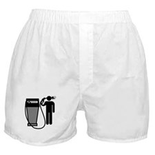 Gas Pump Suicide Boxer Shorts