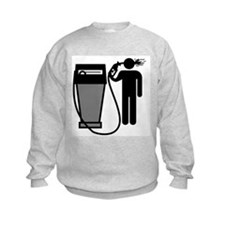Gas Pump Suicide Kids Sweatshirt