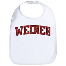 WEINER Design Bib