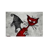 Doom Kitty Rectangle Magnet (10 pack)