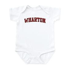 WHARTON Design Infant Bodysuit
