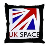 Roscosmos Throw Pillow
