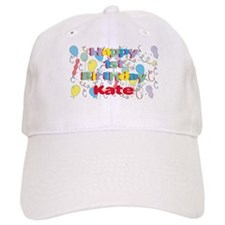 Kate's 1st Birthday Baseball Cap