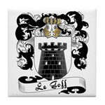 Le Goff Family Crest Tile Coaster