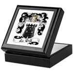 Le Goff Family Crest Keepsake Box