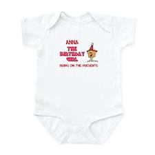 Anna - The Birthday Girl Infant Bodysuit